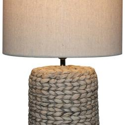 Water Hyacinth Lamp +Shade image