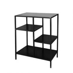 Open Shelf Iron Console Small image