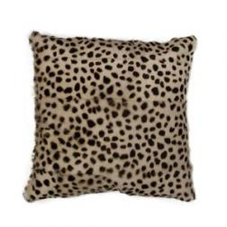 Leopard Goat Fur Cushion image