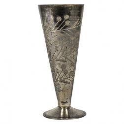 Marcello Etched Cone Vase image