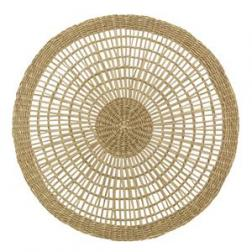 Open Weave Round Natural Placemat image