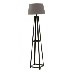 Grey Washed Pyramid Floor Lamp image