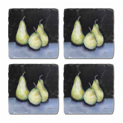 Midnight Pears Coaster Sets image