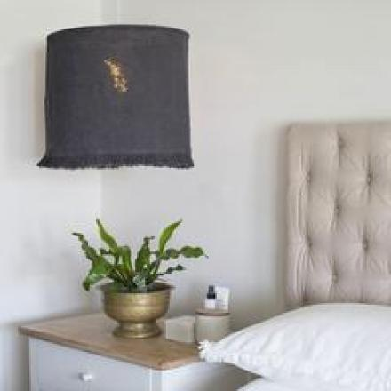 Linen Lampshades image