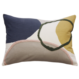 Hannah Cushion with feather inner image