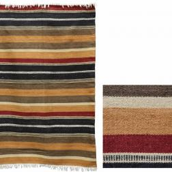 Moroccan Striped Rug image