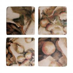 Set of 4 Ivy & fig Coasters image