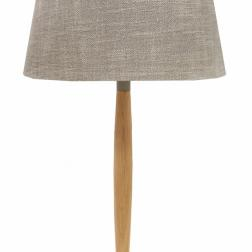 Natural Wooden table Lamp  image