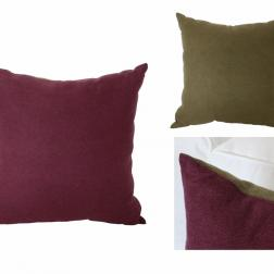 Plum & Olive Cushion image