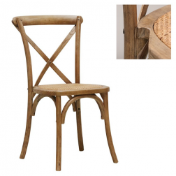 Vienna Elm Stacking Chairs image