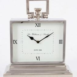 Stainless clock image