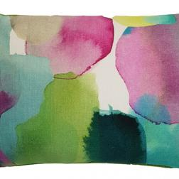 Watercolour cushion image