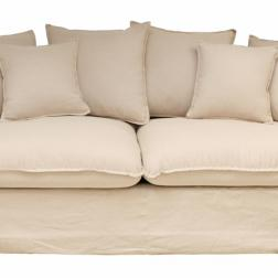 Hampton Couch Natural Linen image