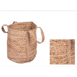 Natural Jute Log Bag image