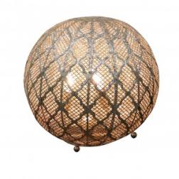 Marrakesh Ball Table Lamp Silver image