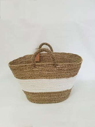 Oval Seagrass bag image