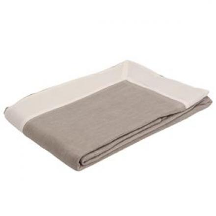 Grey Linen Tablecloth image