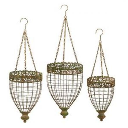 Lea Oval Hanging Baskets image